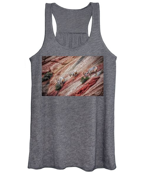 Nimble Mountain Goats 5694 Women's Tank Top