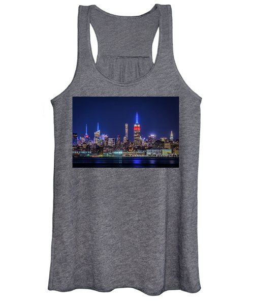 Nyc At The Blue Hour Women's Tank Top