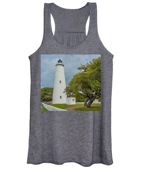 Ocracoke Lighthouse No 2 Women's Tank Top