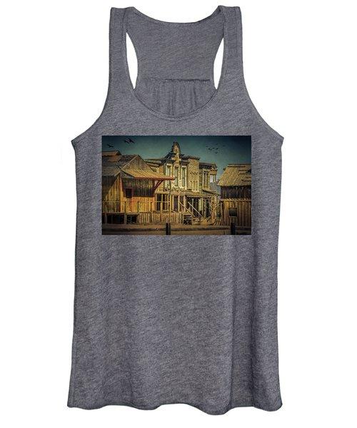 Old Western Town Women's Tank Top