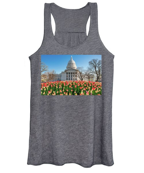 On A Bed Of Tulips Women's Tank Top