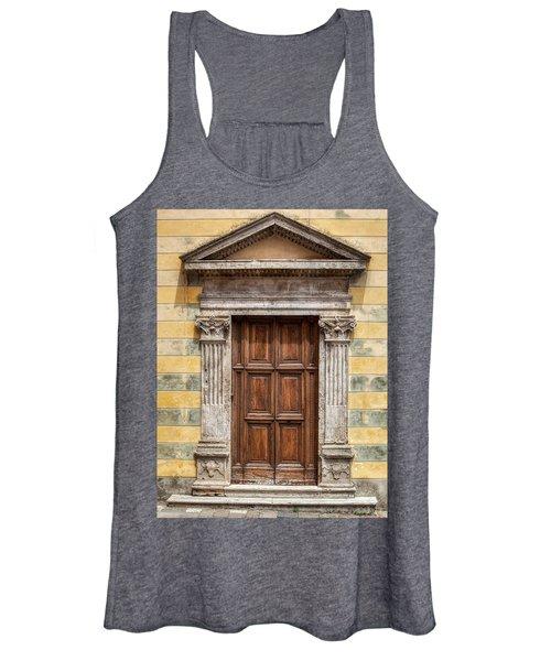 Ornate Door Of Tuscany Women's Tank Top