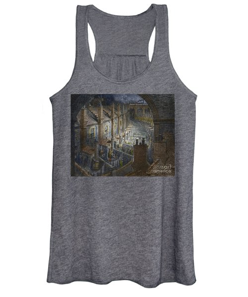 Over London By Rail From London, A Pilgrimage Women's Tank Top