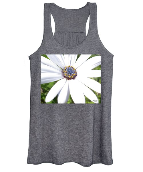 Page 13 From The Book, Peace In The Present Moment. Daisy Brilliance Women's Tank Top