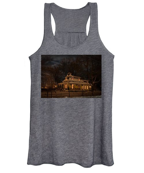 Painted Lady In Winter Women's Tank Top