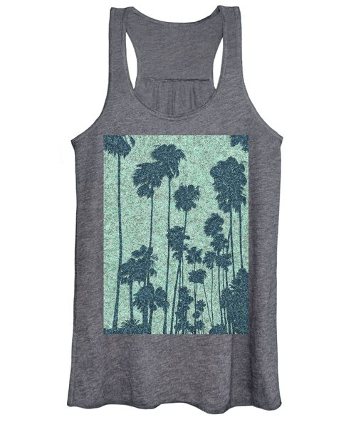 Palms Over Palisades No. 2 Women's Tank Top