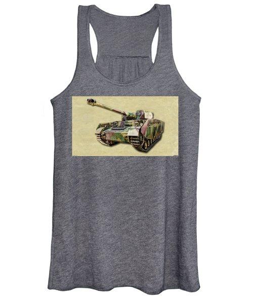 Panzer Iv Canvas Women's Tank Top