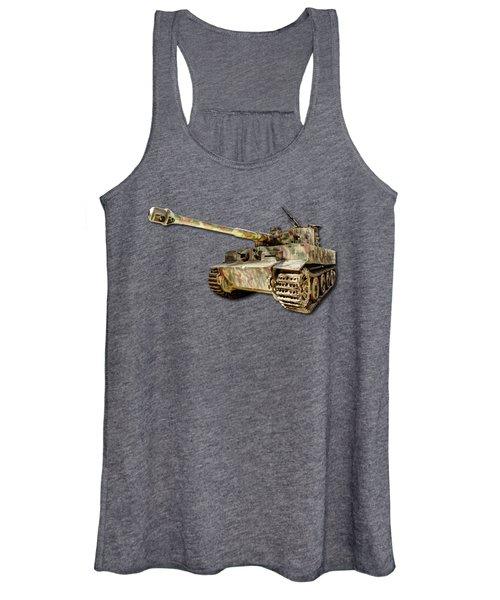 Panzer Vi Tiger Women's Tank Top