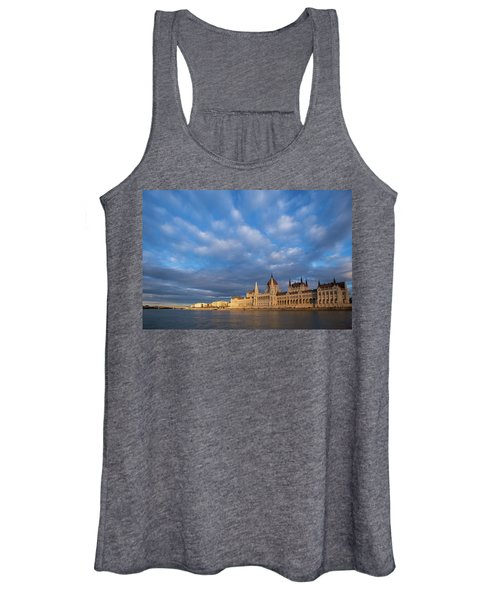 Parliament On The Danube Women's Tank Top