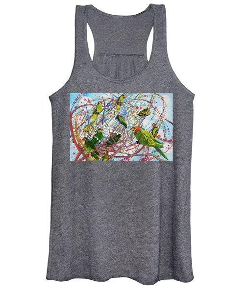 Parrot Bramble Women's Tank Top