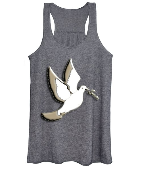 Peace Among The Clouds Women's Tank Top