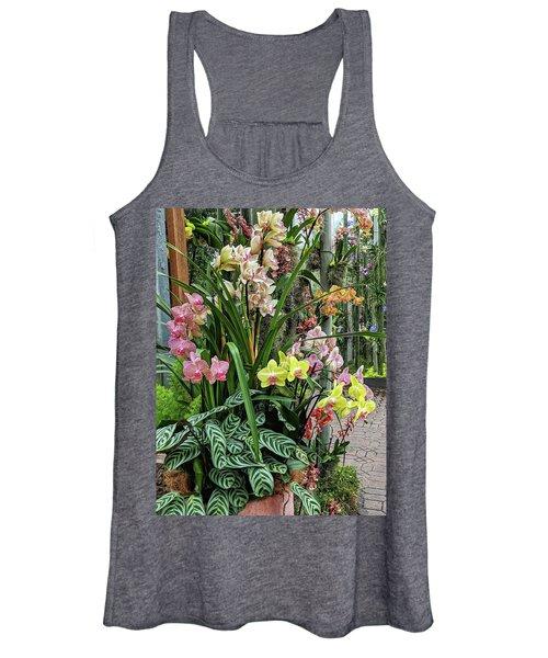 Plentiful Orchids Women's Tank Top
