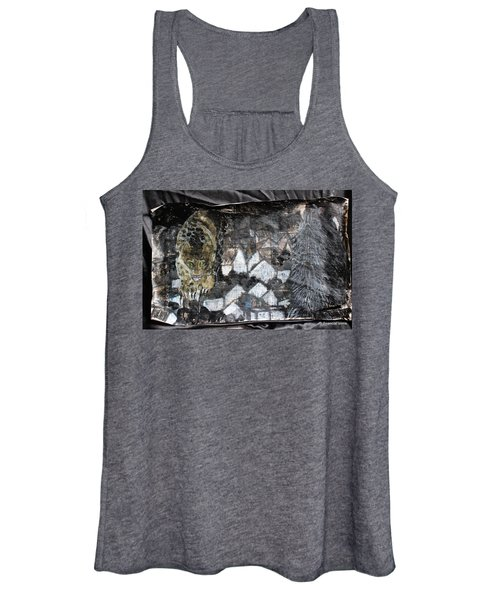 Power Strolled Onto The World Women's Tank Top