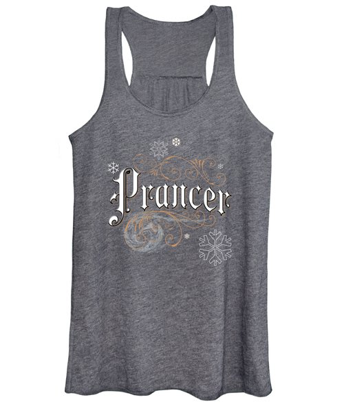 Women's Tank Top featuring the digital art Prancer by Gina Harrison