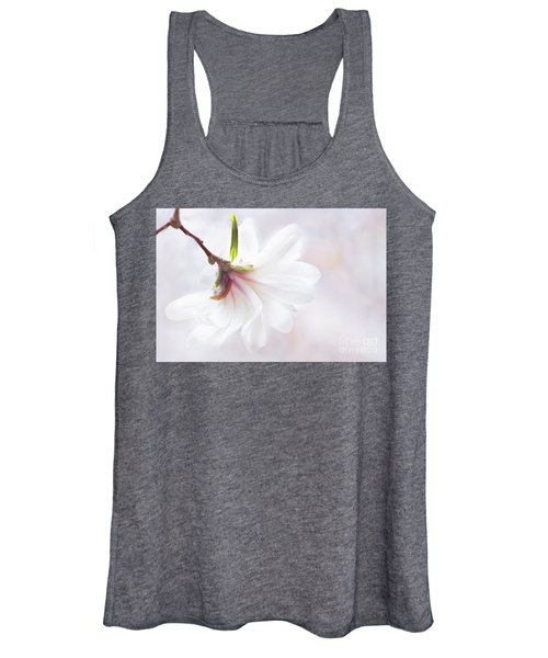 Pretty In Pastel Star Magnolia Women's Tank Top