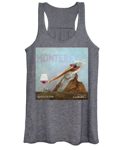 Prince Of Pinot, The Women's Tank Top