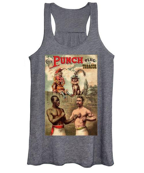 Punch Plug Tobacco Women's Tank Top