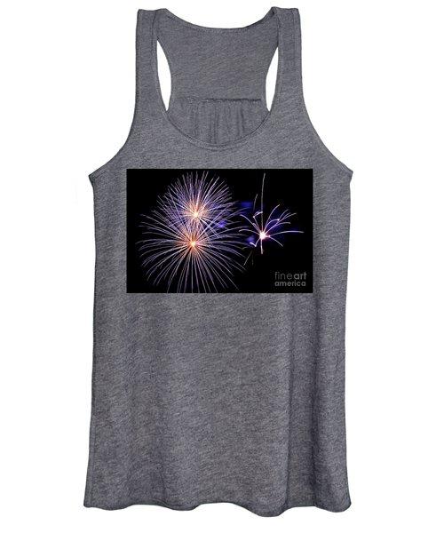 Purple Fireworks Women's Tank Top