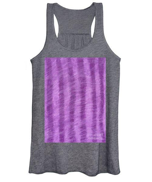 Purple Hazy Nights Women's Tank Top