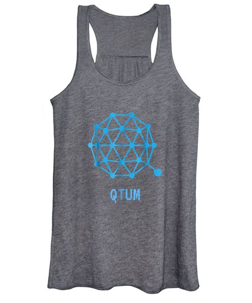 Qtum Cryptocurrency Crypto Tee Shirt Women's Tank Top