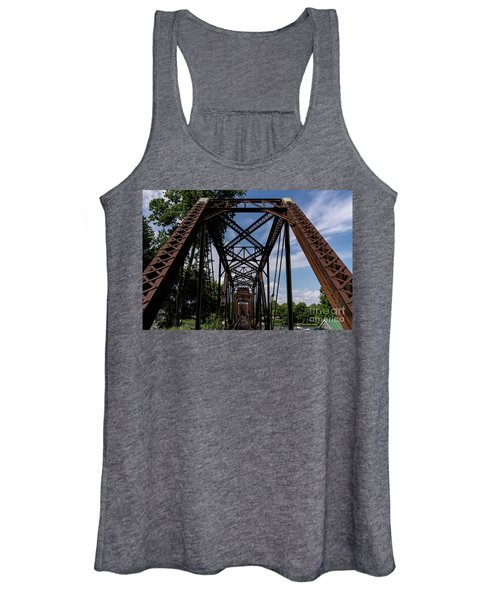 Railroad Bridge 6th Street Augusta Ga 2 Women's Tank Top