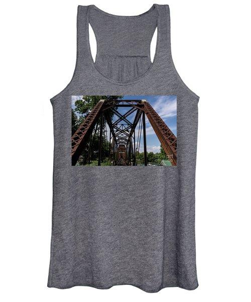 Railroad Bridge 6th Street Augusta Ga 2 Women's Tank Top