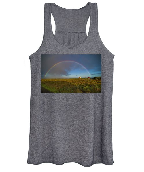 Rainbow At Point Cabrillo Women's Tank Top