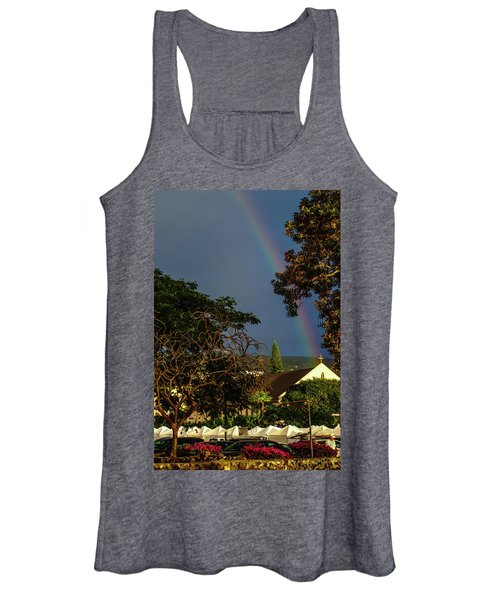 Rainbow Ended At The Church Women's Tank Top
