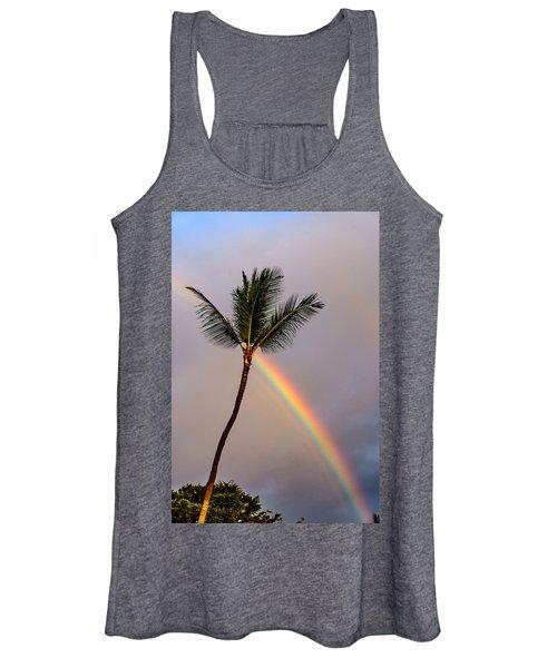 Rainbow Just Before Sunset Women's Tank Top