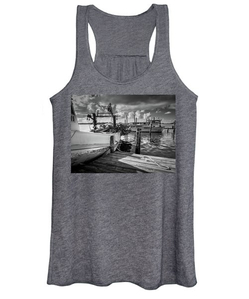 Ready To Go In Bw Women's Tank Top
