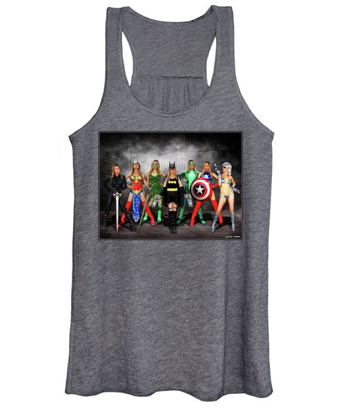 Reflections Of A Hero Women's Tank Top