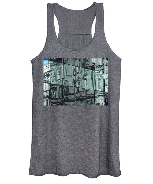Reflection On Modern Architecture Women's Tank Top