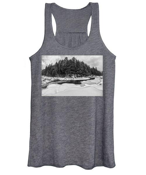 Rocky Gorge N H, River Bend 1 Women's Tank Top