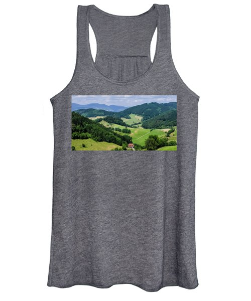Rolling Hills Of The Black Forest Women's Tank Top