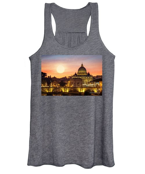 Roman Sunset Women's Tank Top