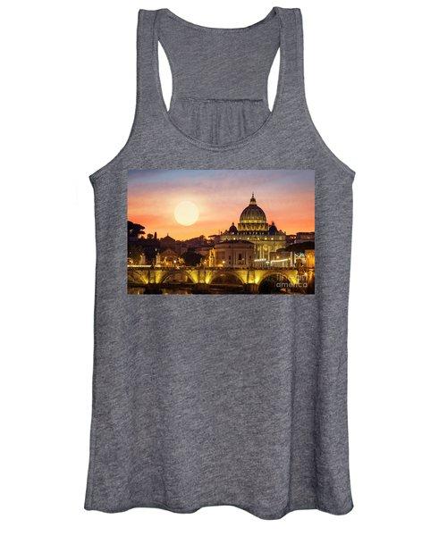 Roman Sunset Women's Tank Top