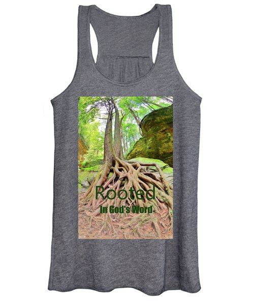 Rooted In God's Word Women's Tank Top