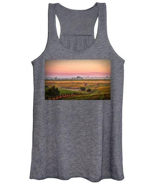 Rural Landscape Women's Tank Top