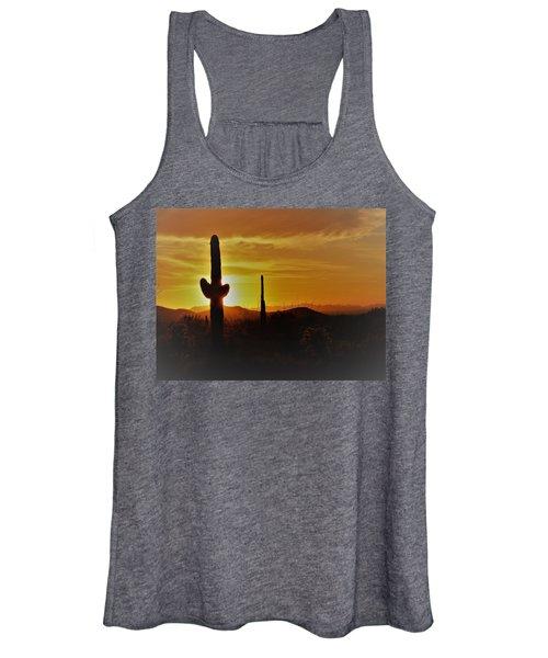Saguaro Sunset Women's Tank Top