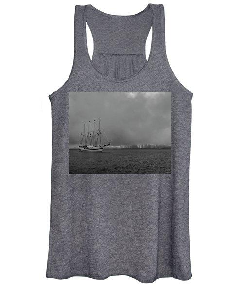 Sail In The Fog Women's Tank Top