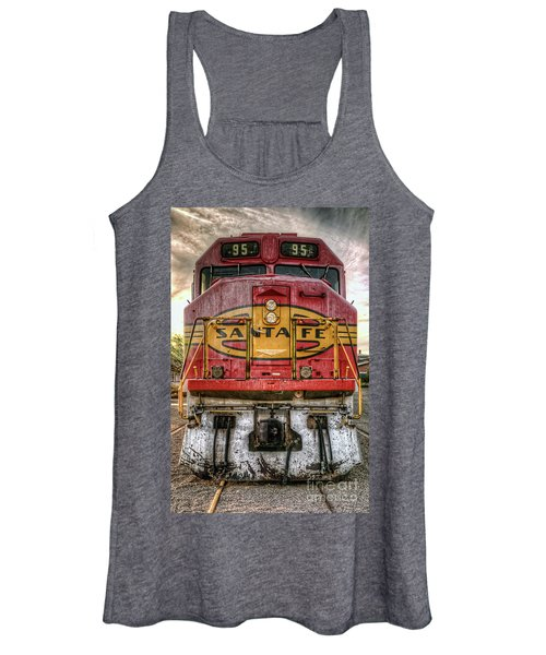 Santa Fe Train Engine Women's Tank Top
