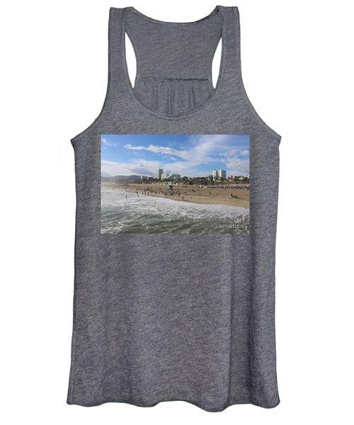 Santa Monica Beach, Santa Monica, California Women's Tank Top
