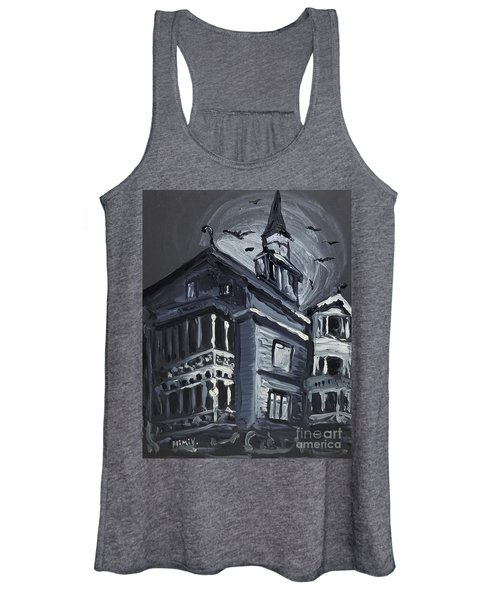 Scary Old House Women's Tank Top