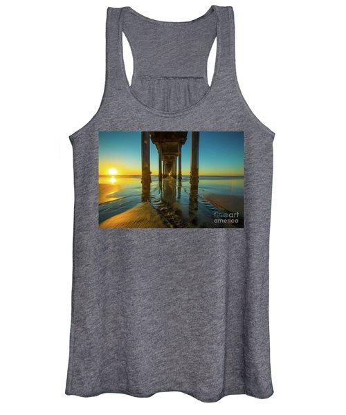 Scripps Pier San Diego Sunset 2 Women's Tank Top