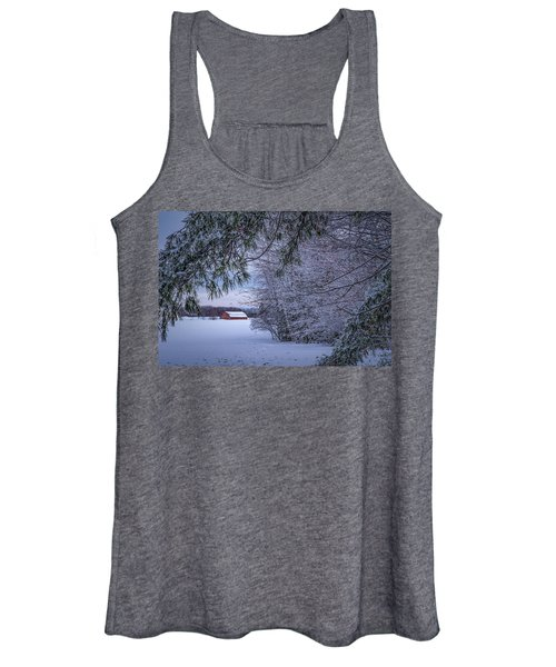 Shed At Sunset Women's Tank Top