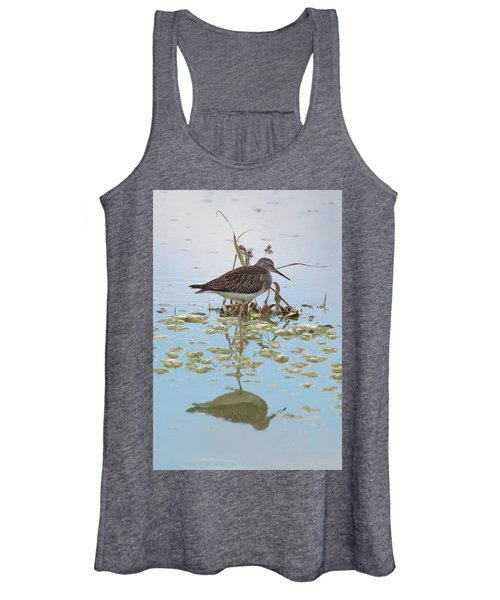 Shorebird Reflection Women's Tank Top