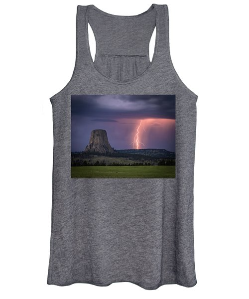 Showers And Lightning Women's Tank Top