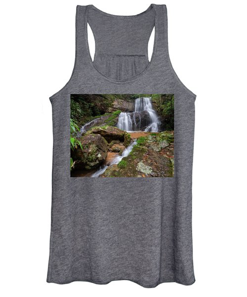 Shu Nu Waterfall 8x10 Horizontal Women's Tank Top