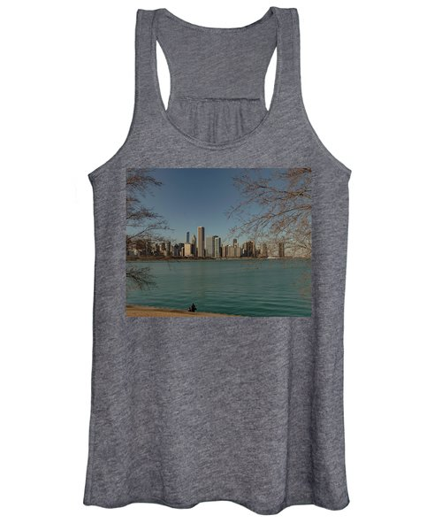 Sitting On A Summer Day Women's Tank Top
