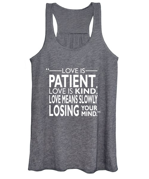 Slowly Losing Your Mind Women's Tank Top
